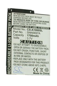 Motorola A1000 battery (1700 mAh)