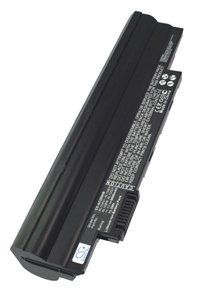 Acer Aspire One Happy Lime-2DQgrgr battery (6600 mAh, Black)