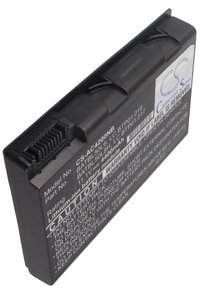 Acer TravelMate 2492WLCi battery (4400 mAh, Black)