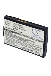 HP / Compaq Aero 1500 battery (850 mAh)