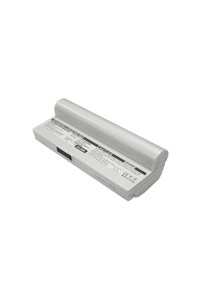 Asus Eee PC 1000H-N437 battery (6600 mAh, White)