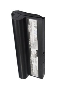 Asus Eee PC 1000H-N437 battery (6600 mAh, Black)