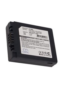 Panasonic Lumix DMC-FZ7S battery (680 mAh, Black)