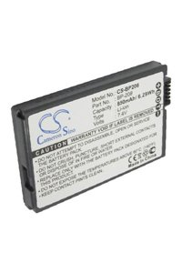 Canon MVX1Si battery (850 mAh, Light Gray)