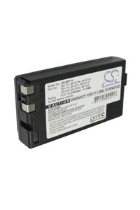 Canon E67 battery (2100 mAh, Black)