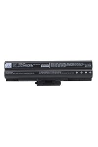 Sony Vaio VGN-SR19XN battery (4400 mAh, Black)