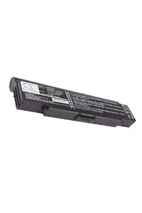 Sony Vaio VGN-CR11S/W battery (6600 mAh, Black)