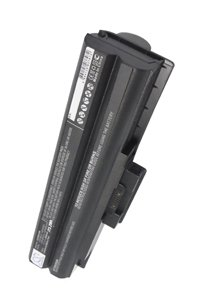 Sony Vaio VGN-SR29VN/S battery (6600 mAh, Black)