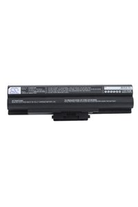 Sony Vaio VGN-AW70B/Q battery (4400 mAh, Black)