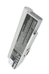 Sony Vaio VGN-FE28GP battery (6600 mAh, Silver)