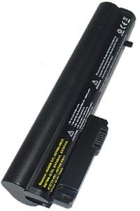 HP Compaq 2510p battery (6600 mAh, Black)