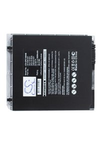 Compaq Tablet PC TC1100-DV467P battery (3600 mAh, Silver)