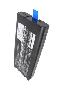 Panasonic Toughbook CF-29 battery (6600 mAh, Black)