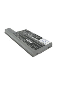 Dell Latitude D531 battery (6600 mAh, Metallic Gray)