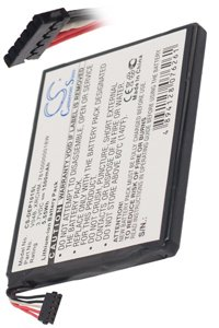 Dell Streak Pro D43 battery (1500 mAh, Black)