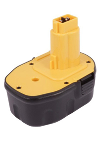DeWalt DC013 battery (3000 mAh, Black)