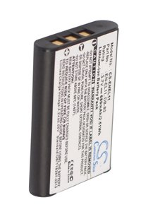 Pentax Optio V20 battery (680 mAh, Black)