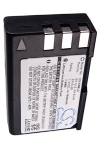 Nikon D40 battery (1000 mAh, Black)