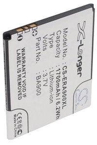 Sony Xperia J battery (1700 mAh, Black)