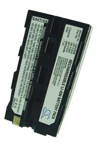 Sony CCD-TR516E battery (6600 mAh, Dark Gray)