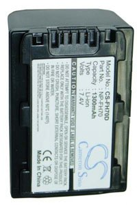 Sony Cyber-shot DSC-HX1V battery (1300 mAh, Dark Gray)