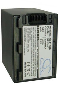 Sony Cyber-shot DSC-HX1V battery (2200 mAh, Dark Gray)