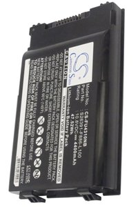 Fujitsu LifeBook T901 battery (4400 mAh, Black)