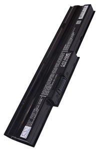 Fujitsu LifeBook NH751 battery (4400 mAh, Black)