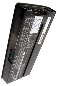Fujitsu LifeBook P8020 battery (6600 mAh, Black)