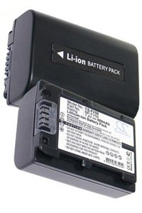 Sony HXR-NX70E battery (600 mAh, Black)