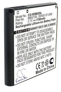 HTC Gratia battery (1100 mAh)