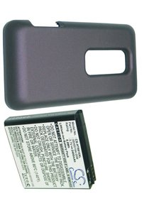 HTC EVO 3D battery (2400 mAh, Purple)