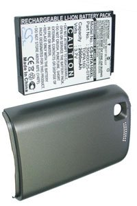 HTC Tattoo battery (2000 mAh, Metallic Gray)