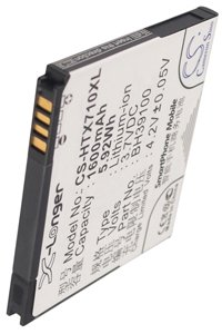 HTC X710s battery (1600 mAh, Black)