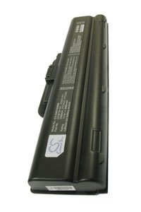 HP Pavilion zd7257EA-PH987EA battery (6600 mAh, Black)