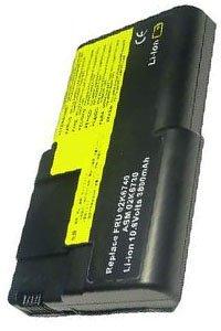 IBM ThinkPad A21e 2655 battery (4400 mAh, Black)