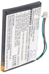 Garmin Nuvi 770 battery (1250 mAh)