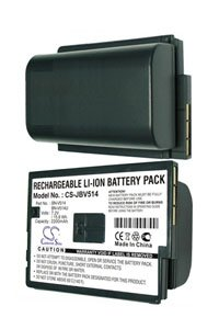 JVC GR-DVX7 battery (1850 mAh, Black)