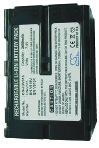 JVC GR-DVL9700 battery (2600 mAh, Dark Gray)