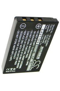 Sanyo Xacti VPC-HD2000 battery (1400 mAh, Black)