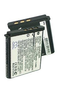 Kodak EasyShare V1233 battery (800 mAh, Black)