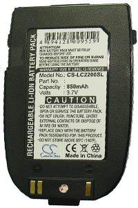 LG C2200 battery (850 mAh)