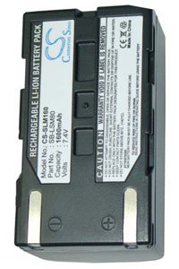 Samsung VP-D461B battery (1600 mAh, Gray)