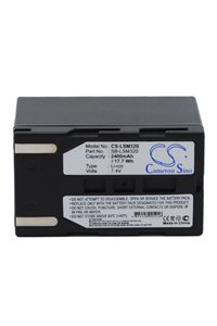 Samsung VP-D461B battery (2400 mAh, Gray)
