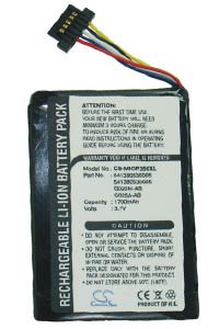Navman N20 battery (1700 mAh)