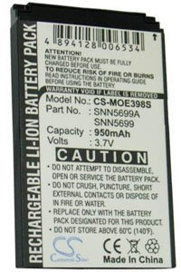 Motorola ROKR E1 battery (950 mAh)
