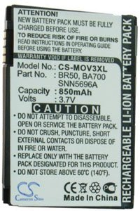 Motorola PEBL U6 battery (850 mAh)