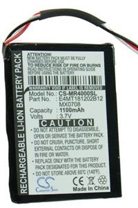 Magellan Maestro 4010 battery (1100 mAh)
