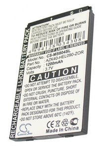 O2 Denim battery (1200 mAh)