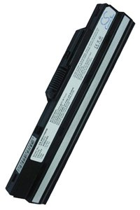 MSI Wind U100-1618XP battery (4400 mAh, Black)